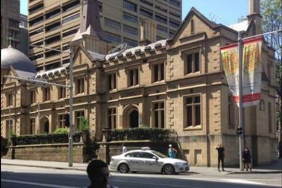 Registrar-General's building in Sydney, 2015