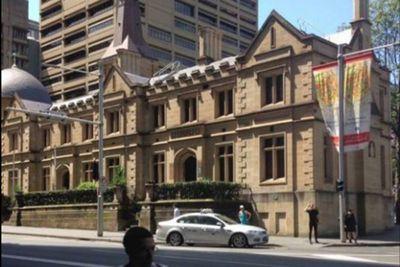 Registrar-General's building in Sydney, 2015