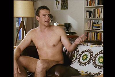 Not the first male actor we'd choose to see naked, but Jason Segel was game to go full frontal in <i>Forgetting Sarah Marshall</i>. Just for laughs!