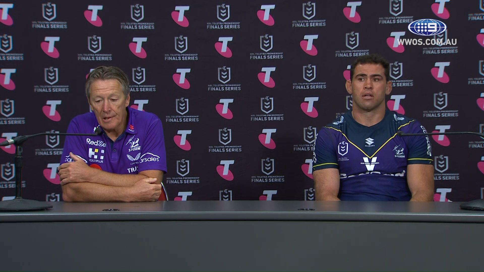 Deflated Craig Bellamy says Melbourne Storm left their worst 'til last