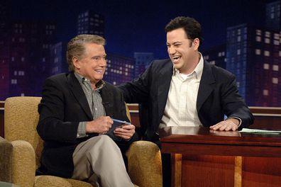 Regis Philbin, Jimmy Kimmel
