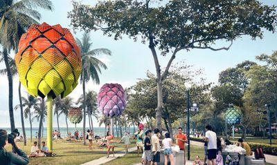 Beach Hut by Spark Architects, Singapore.