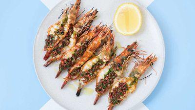 <strong>King prawns on the menu at Da Maria</strong>