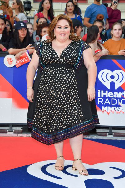 Actress and singer Chrissy Metz at the 2018 iHeartRADIO MuchMusic Video Awards in Toronto, Canada