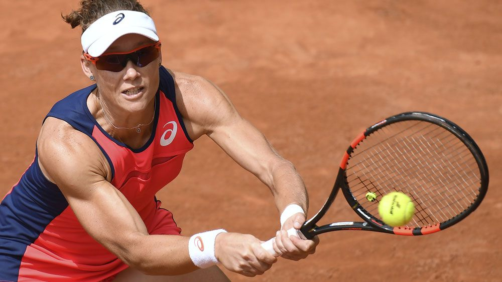 Samantha Stosur's Wimbledon worry after French Open fall