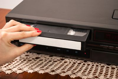 <strong>VCR/DVD player</strong>