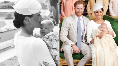 The Duchess of Sussex's $10k accessories at Archie's christening, July 2019