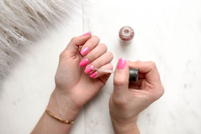 Use it to remove nail varnish stains