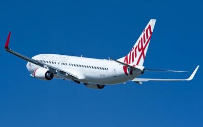 Virgin Australia Boeing 737-800 plane