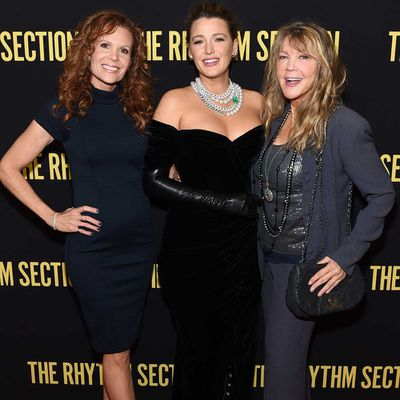 Robyn Lively, Blake Lively and their mother Elaine Lively