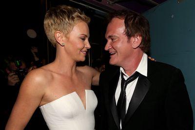 Eyes up here, Tarantino.