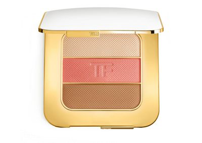 "<a href=""www.davidjones.com.au"" target=""_blank"">Tom Ford Soleil Contouring Compact in Afternooner, $155.</a>"