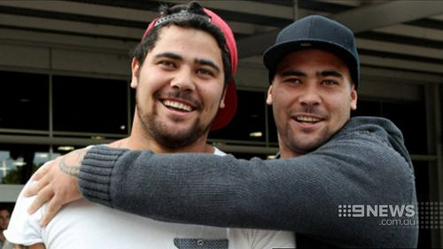 Andrew and David Fifita. (Supplied)