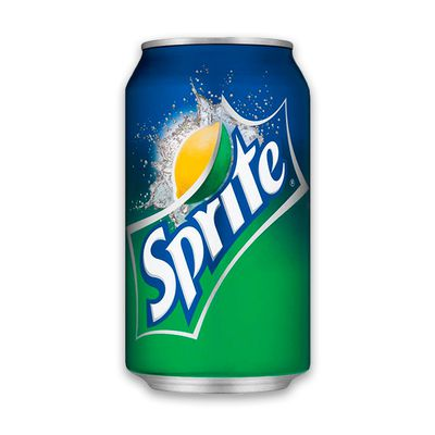 <strong>375ml Sprite can (37.9 grams of sugar)</strong>