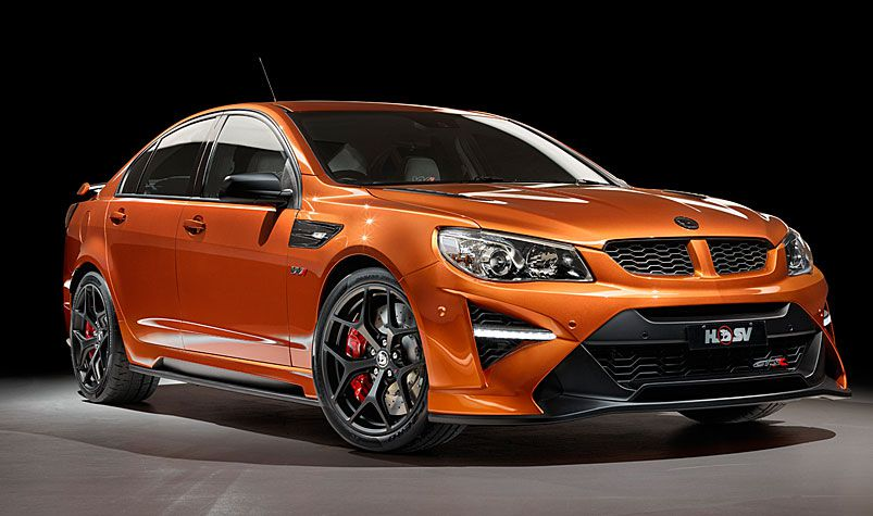 Holden's GTSR W1 model will have a supercharged V8 engine and a price tag of about $170,000. (AAP)