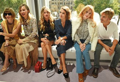 "Being the home of Brit cool, the Topshop Unique runway never fails to attract a swarm of English It girls. From Suki Waterhouse to Alexa Chung this front row rivals <a href=""http://honey.ninemsn.com.au/2015/09/17/07/43/backstage-at-yeezy-by-kayne-west"" target=""_blank"">Kanye's when it comes to style powerhouses</a>."