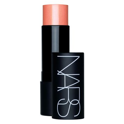 "<p>A blush, lip stain and highlighter all in 1- <a href=""https://www.mecca.com.au/nars/the-multiple/V-000462.html"" target=""_blank"" draggable=""false"">NARS The Multiple Stick in Orgasm, $57</a></p> <p>The ultimate beauty multi-tasker</p>"