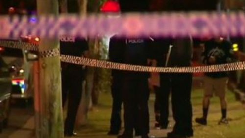 It is believed the fight was sparked after an ice-cream cone was thrown at a car belonging to one of the men. (9NEWS)