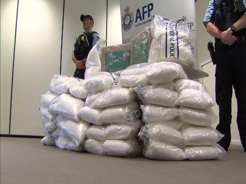 The drug precursor could have been used to make 922 kilograms of methamphetamine.