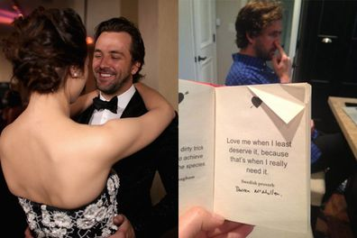 Crystal Reed dating Darren McMullen
