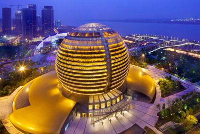 <strong>Luxury Hotel &amp; Conference Centre: InterContinental Hangzhou, China</strong>