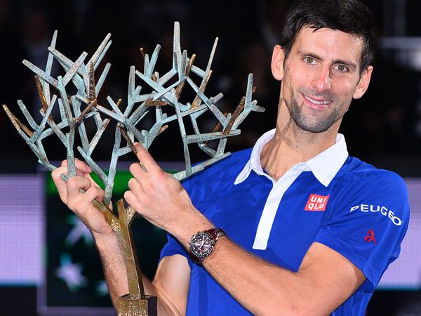 Novak Djokovic. (AFP)