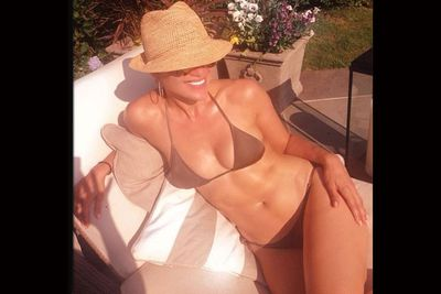 JLo is effortlessly hot, lounging by the pool with friends. <br/><br/>(Image: Instagram)