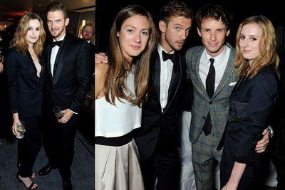 <i>Downton Abbey</i>'s Dan Stevens, <i>Les Mis&#233;rables</i> actor Eddie Redmayne and <i>Downton Abbey</i>'s Laura Carmichael.