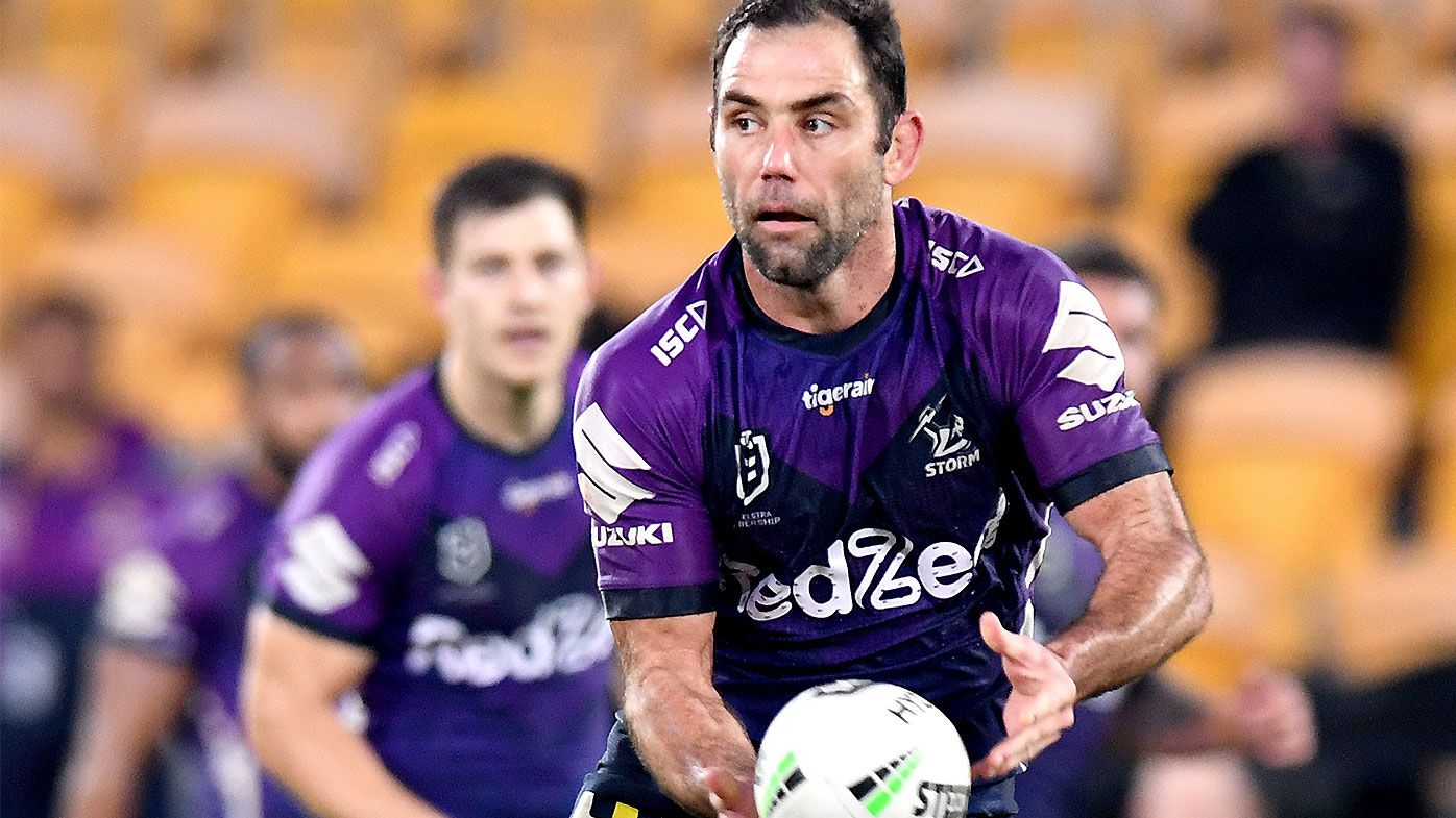 Craig Bellamy says Cameron Smith was 'nervous' about halfback switch against Roosters