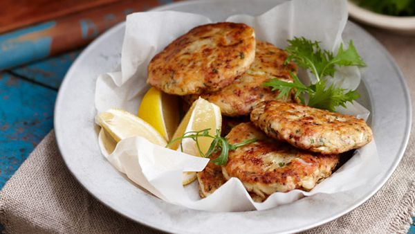 Cabbage and beef hash cakes