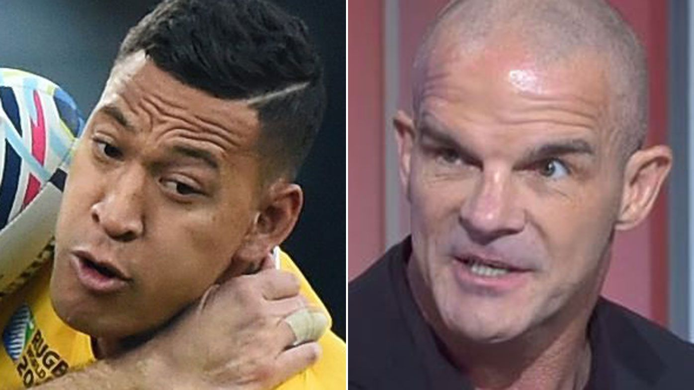 Ian Roberts' devastating message for Israel Folau: 'Kids are killing themselves'