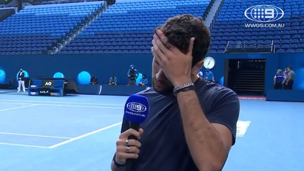 Matteo Berrettini speaks to Nine after withdrawing from the Australian Open.