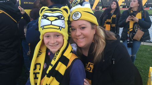 Richmond fans are already out in force on Punt Road.