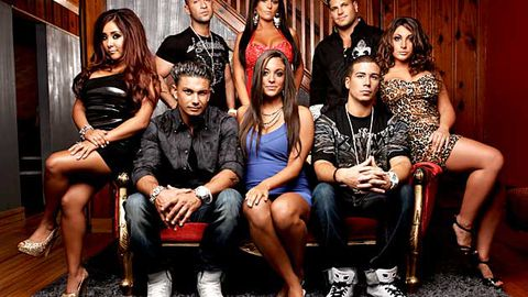 The cast of Jersey Shore.