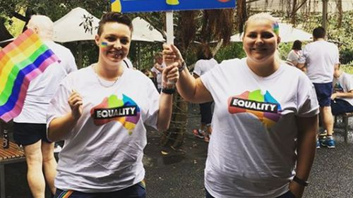 The couple had been active campaigners for marriage equality in Australia (Supplied)