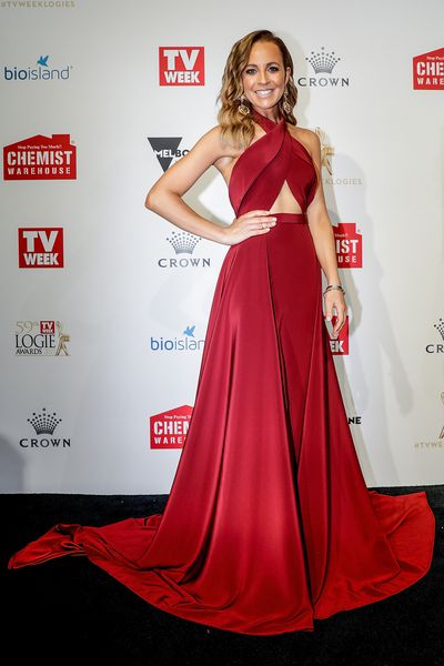 <p>Carrie Bickmore in Paolo Sebastian</p>