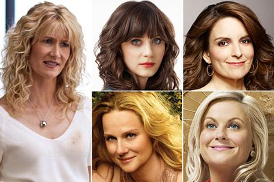 Laura Dern &mdash; <i>Enlightened </i><br/>Zooey Deschanel &mdash; <i>New Girl</i><br/>Tina Fey &mdash; <i>30 Rock</i><br/>Laura Linney &mdash; <i>The Big C</i><br/>Amy Poehler &mdash; <i>Parks and Recreation</i>