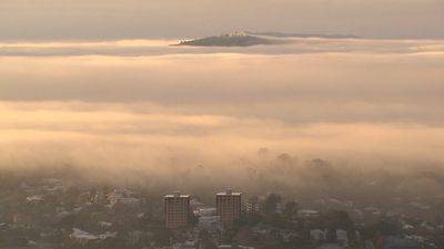 "Brisbane residents have woken to a blanket of fog this morning, causing headaches for commuters and delaying flights.<br _tmplitem=""2""> <br _tmplitem=""2""> The fog is expected to lift by 9am, according to Weatherzone.<br _tmplitem=""2""> <br _tmplitem=""2""> Ferries have also reportedly been delayed.<br _tmplitem=""2""> <br _tmplitem=""2""> Click through the gallery for more photos of this morning's fog."