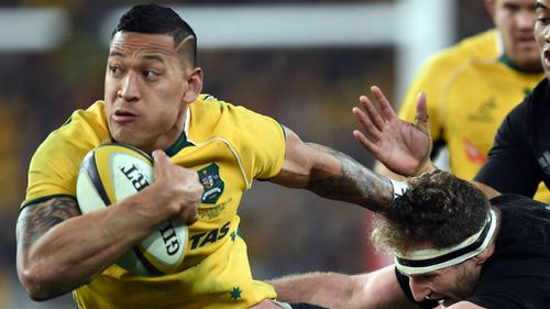 Wallaby Israel Folau wins second straight John Eales Medal