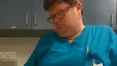 US doctor who asked patient 'are you dead?' suspended after viral video