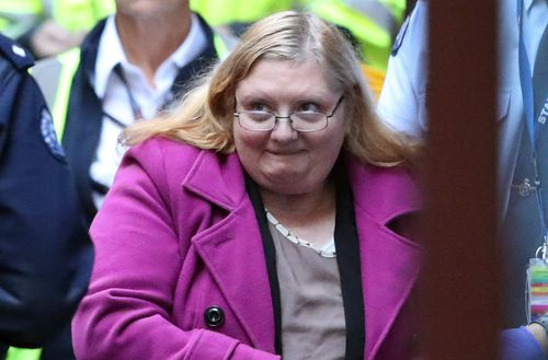 Christine Lyons was found guilty by a Supreme Court of Victoria jury in June of murdering 39-year-old Samantha Kelly.