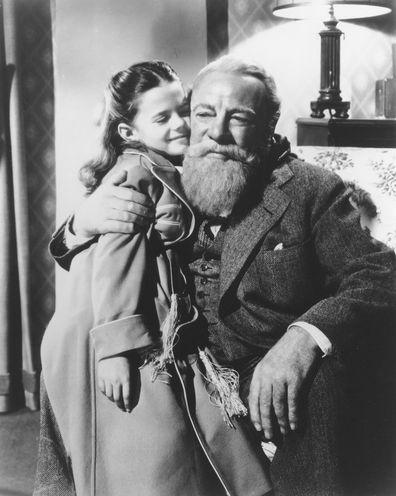 Natalie Wood and Edmund Gwenn
