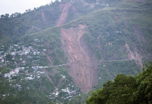 Dozens were killed by landslides in the Philippines and plenty are still feared trapped.