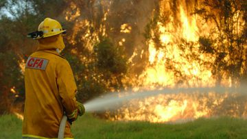 Firies have attacked Victorian Labor over its state firefighting plan. (AAP)