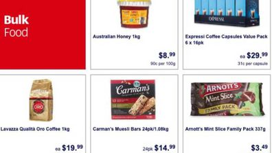Aldi bulk food sale