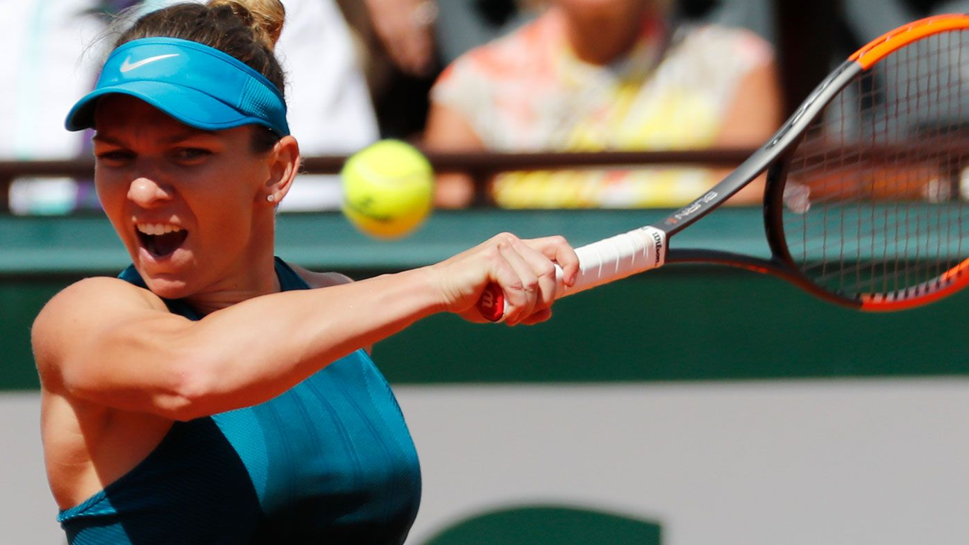 Halep 'chill' ahead of French Open final