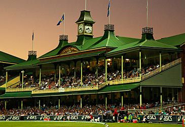Daily Quiz: Which stand at the Sydney Cricket Ground is illustrated here?