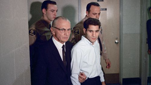 Sirhan Sirhan was later accused of the shooting, however after 50 years he still remains insistent that he does not remember committing the crime. Picture: AAP.