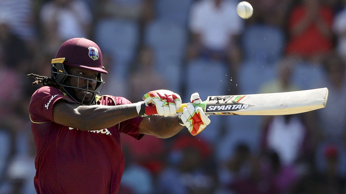 Chris Gayle fires West Indies to win over England, ties ODI series, sets sixes record