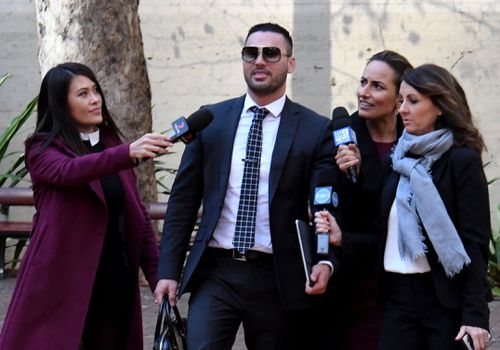 Mehajer is becoming a regular face in the Sydney court system. Picture: AAP